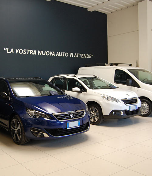 Showroom Auto nuove Peugeot